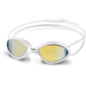 Head Tiger Race Mid Mirrored Goggles, white-smoke
